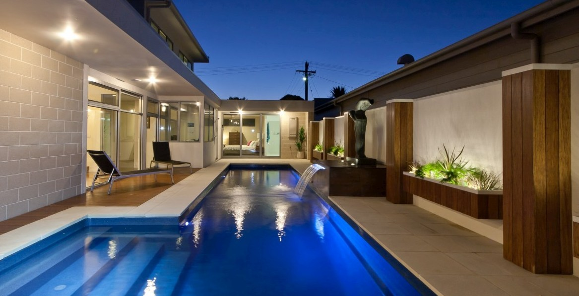 Fastlane is longer but a narrow pool for smaller spaces