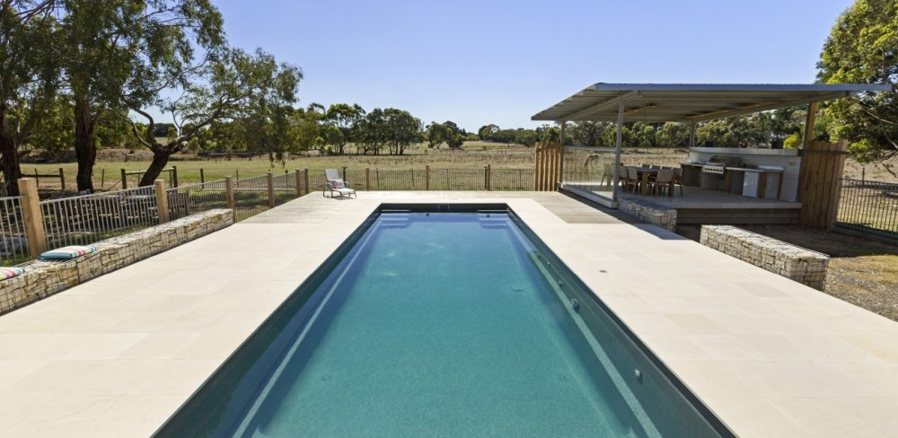 Our Contemporary pools are not that small but you can select the smallest version