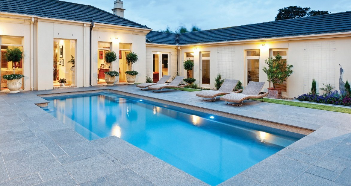 Vogue is one of the larger pools but can fit some smaller spaces